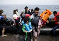 نجات ۴۹ مهاجر  در دریای اژه