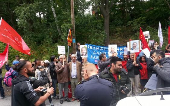 اکسیون اعتراض به مرگ شاهرخ زمانی