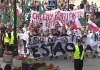 موافقان و مخالفان پذیرش مهاجران در لهستان به خیابانها آمدند
