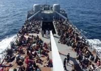 مرگ ۲۵ پناهجو در آبهای لیبی و کشته شدن یک کودک پناهجوی افغان در آبهای یونان