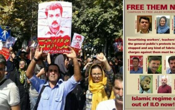 آکسیون اعتراضی برای آزادی زندانیان سیاسی