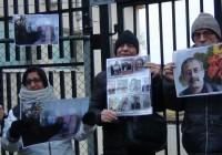 گزارش اکسیون اعتراضی سازمان سراسری پناهندگان ایرانی بیمرز  ۲ دسامبر ۲۰۱۷