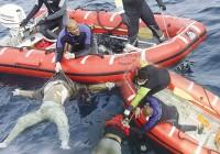 """""""غرق شدن قایقی در دریای مدیترانه در ایتالیا"""