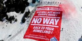 بستن مرزهای کوهستانی فرانسه و ایتالیا بر روی پناهجویان