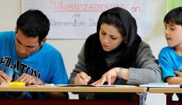 از هر دو مهاجر یکی در امتحان زبان آلمانی رد میشود.
