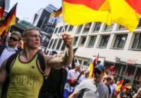 تظاهرات حزب الترناتیو برای آلمان بر علیه سیاسیت های پناهند پذیری