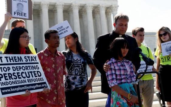 اعتراضات سراسری در آمریکا علیه سیاست مهاجرتی ترامپ