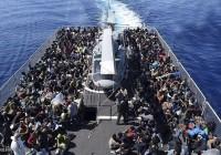 بیش از هزار پناهجو در دریای مدیترانه از خطر مرگ نجات یافتند.