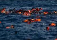 غرق شدن سی و سه پناهجو در  دریا