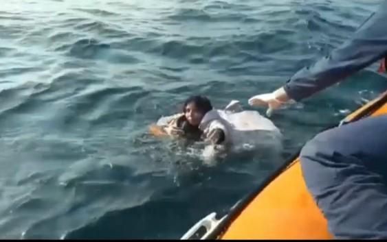 پنج کشته در پی واژگون شدن قایق حامل مهاجران در غرب ترکیه