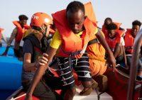 آلمان ۴۰ پناهجوی نجاتیافته در دریای مدیترانه را میپذیرد