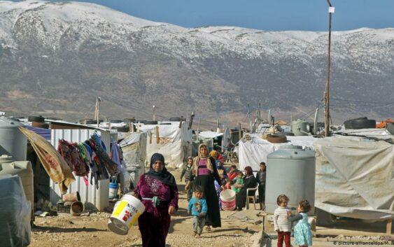 آتشسوزی در اردوگاه آوارگان سوری در شمال لبنان