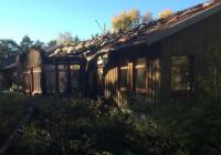 آتش سوزی در اقامتگاههای پناهجویان جدید