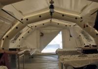 چادرهای پناهجویان به زودی برپا نمی شوند