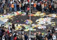 معترضان و پلیس ترکیه در آنکارا درگیر شدند
