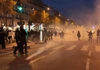 تظاهرات در پاریس علیه بردهداری در  لیبی
