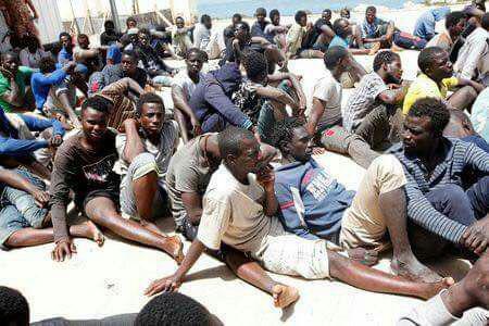 حراج بردگان در لیبى