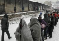 روزگار سخت پناهجویان در سرما