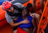 نجات یک زن و مرگ دو پناهجو