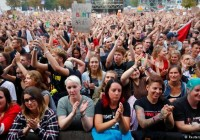کنسرت بزرگ در کمنیتس آلمان در مخالفت با خارجیستیزی