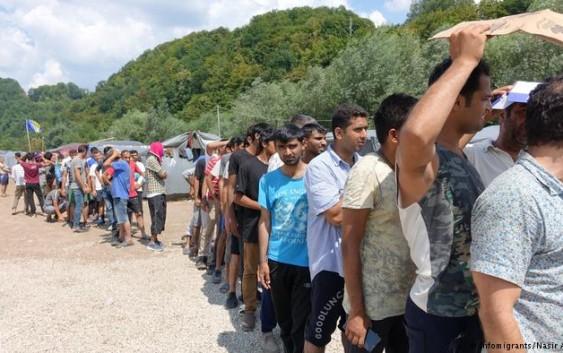 پناهجویان منتظر در ترکیه