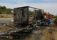 یونان؛ یازده 'مهاجر' در تصادف خودرو با کامیون جان باختند