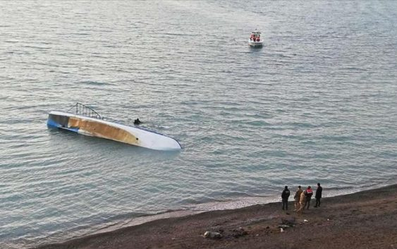 هفت مهاجر افغان در دریاچه وان ترکیه جان باختند